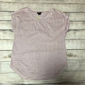 NWT Ann Taylor Factory Cuffed Sleeves Top Size S